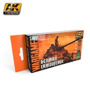 GERMAN CAMOUFLAGE SET (WARGAME SERIES) - AK1167